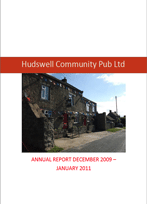 Hudswell Annual Report