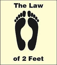 law of 2 feet
